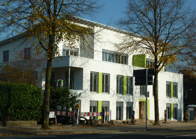 Errichtung von 2 Mehrfamilienhäusern mit Gewerbefläche, Kleve