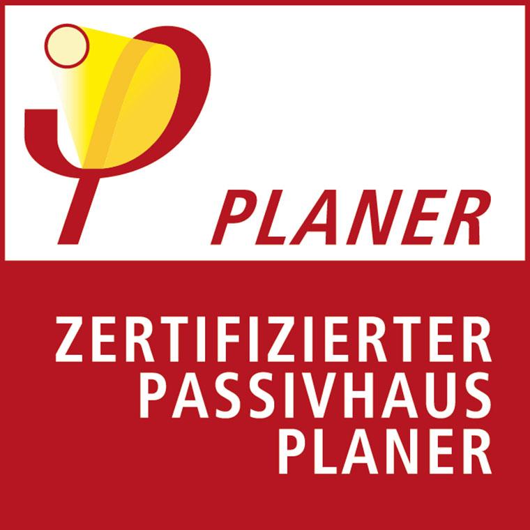 Logo zertifizierter Passivhausplaner