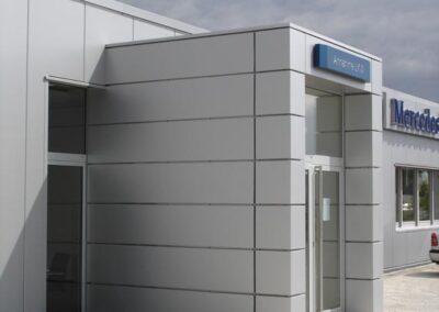 Umbau einer Mercedes-Niederlassung, Emmerich, Architekturbüro Markus Tönnissen in Kleve